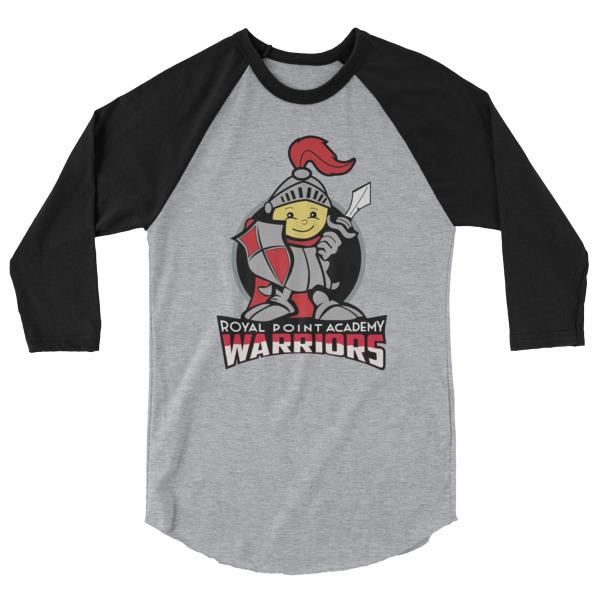 RPA Warriors 3/4 Sleeve Raglan Shirt (Adult)